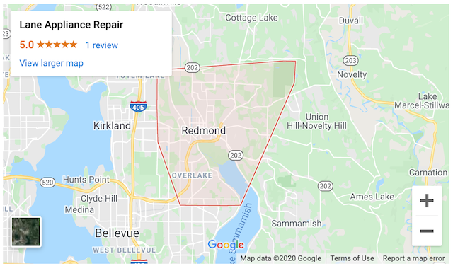 lane redmond service area